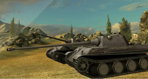 World of Tanks Blitz arte