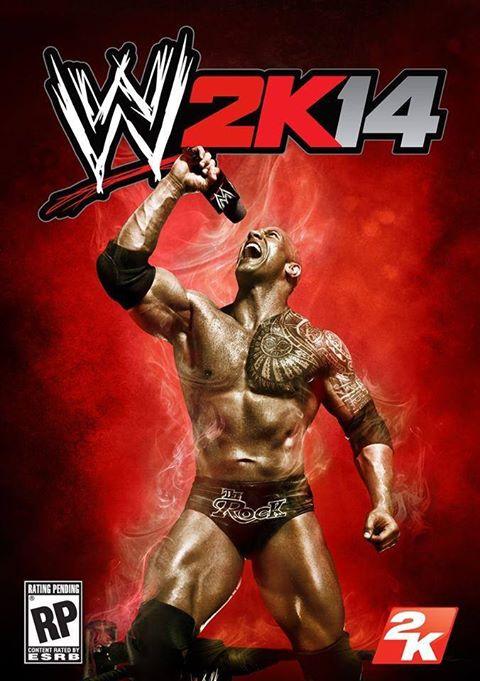 WWE 2K14 portada