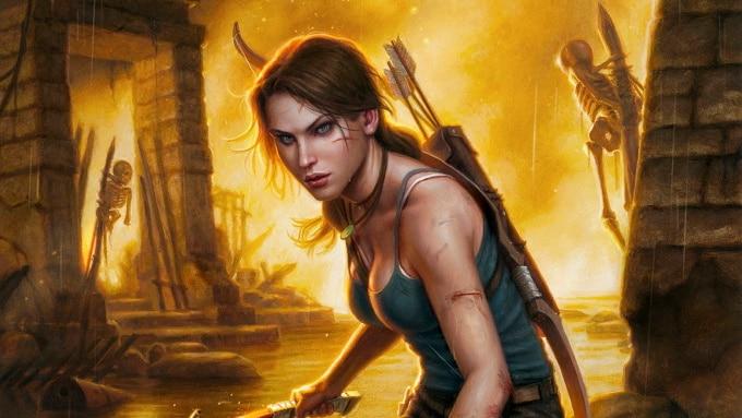 Lara Croft Comic