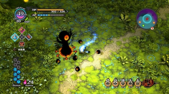 The witch and the hundred knights gameplay