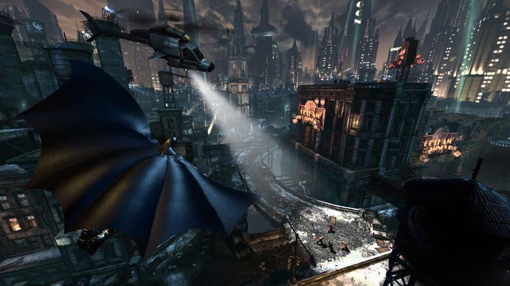 Batman interior