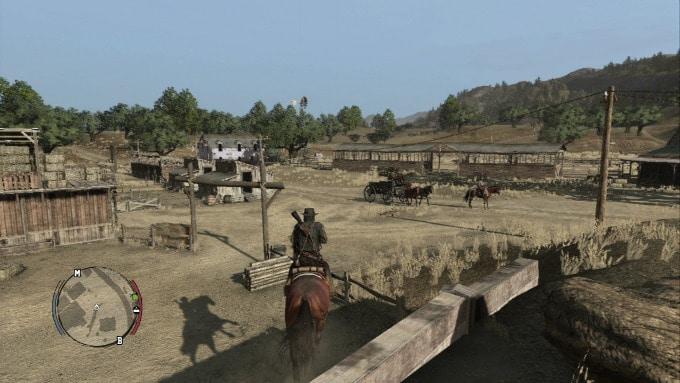 Red Dead Redemption interior