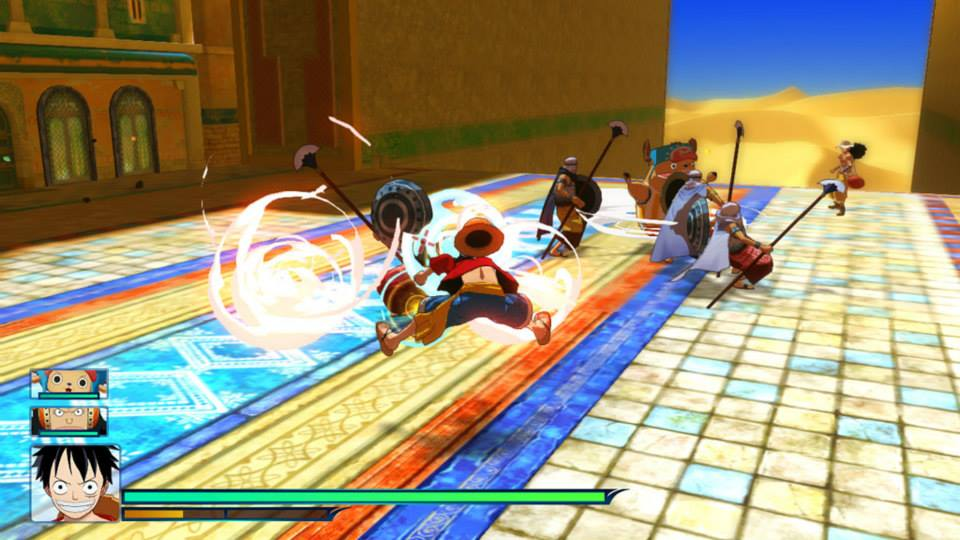 one piece unlimited world red combate 6