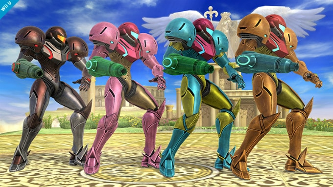 Super Smash Bros. Wii U, un vistazo a todos los trajes de todos los personajes
