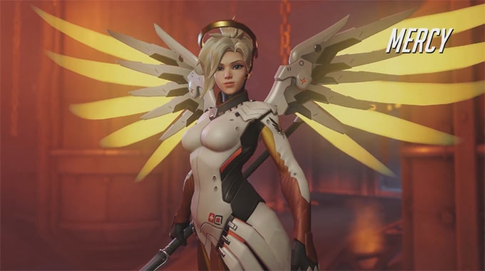 Overwatch 11 Mercy