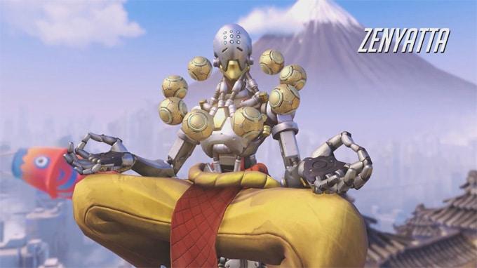 Guía personajes Overwatch Zenyatta