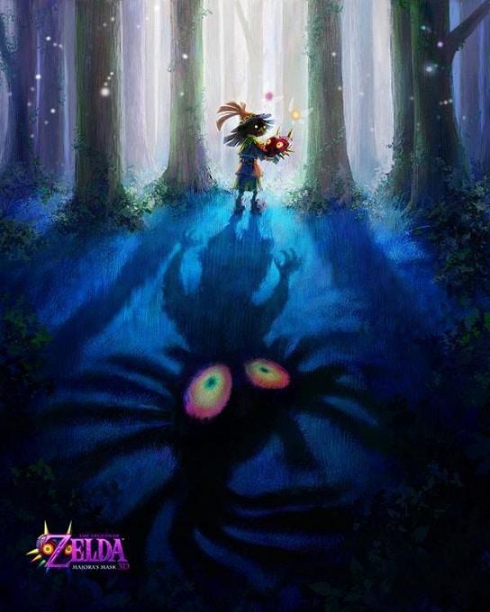 Zelda Majora Mask 3DS