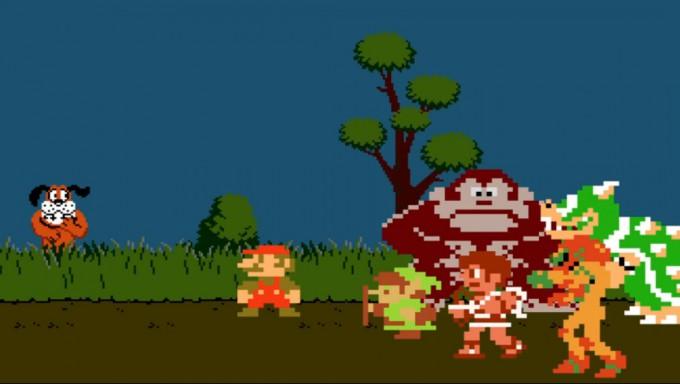 Super Smash Bros. recibe a Duck Hunt en su versión para Wii U