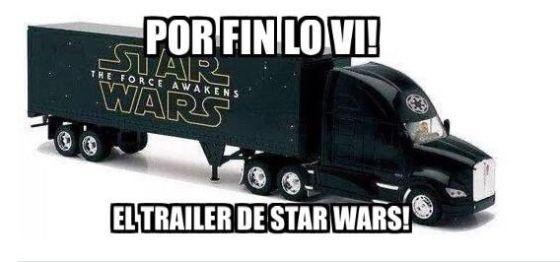 Star Wars trailer lo vi