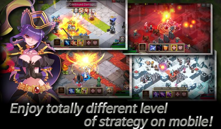 Fantasy War Tactics es el nuevo RPG táctico para dispositivos móviles