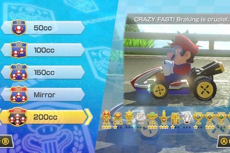 El modo 200cc y su segundo paquete de contenidos ya están disponibles en Mario Kart 8
