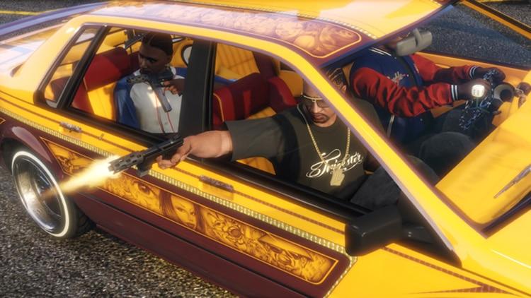 Captura oficial de GTA Online Lowriders, el nuevo DLC gratuito del juego