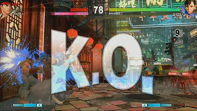 Street Fighter vida real