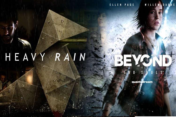 Heavy Rain Beyond Two Souls físico ps4