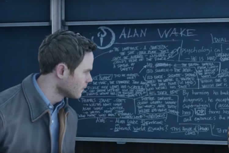alan wake aparece en quantum break