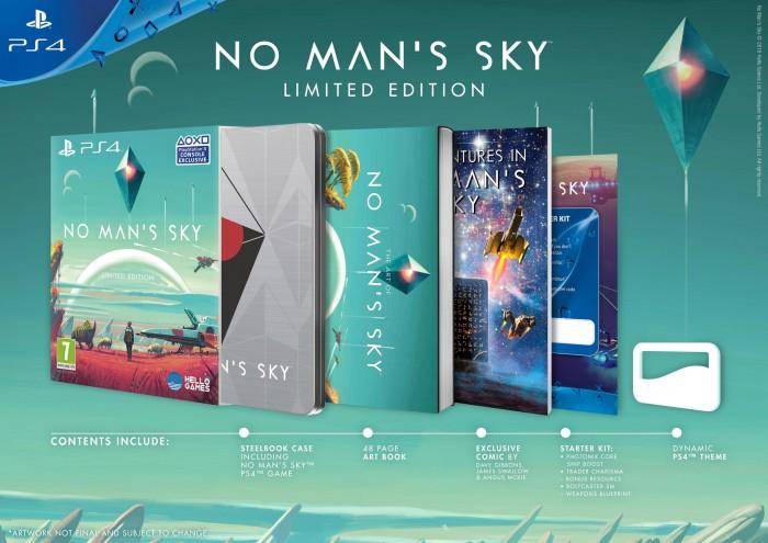 No man's Sky fecha lanzamiento edición limitada