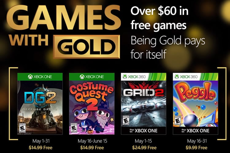 games with gold mayo