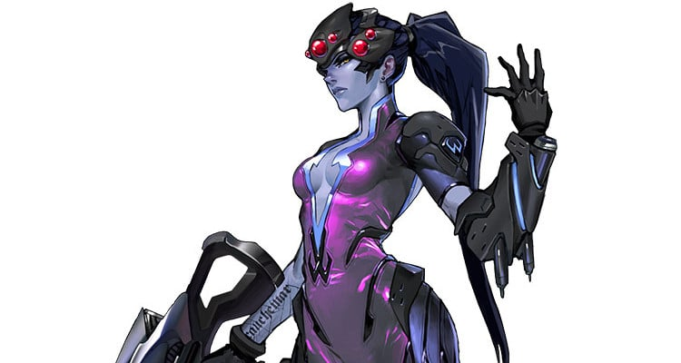 Overwatch 12 Widowmaker Artwork