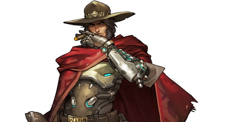Overwatch 2 McCree Artwork