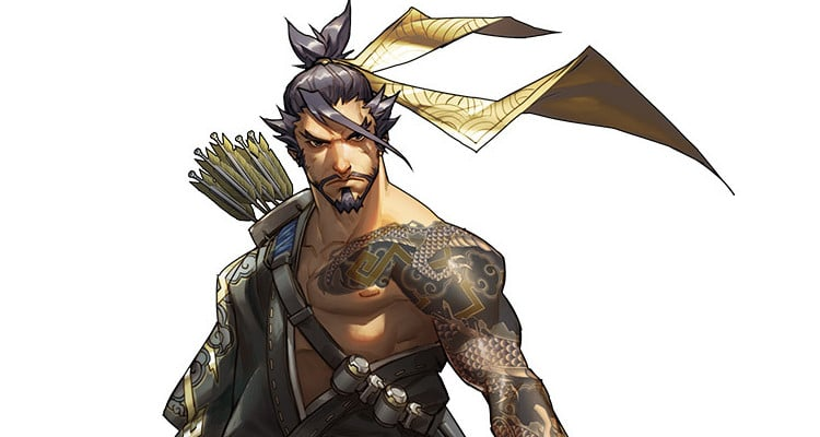 Overwatch 8 Hanzo Artwork