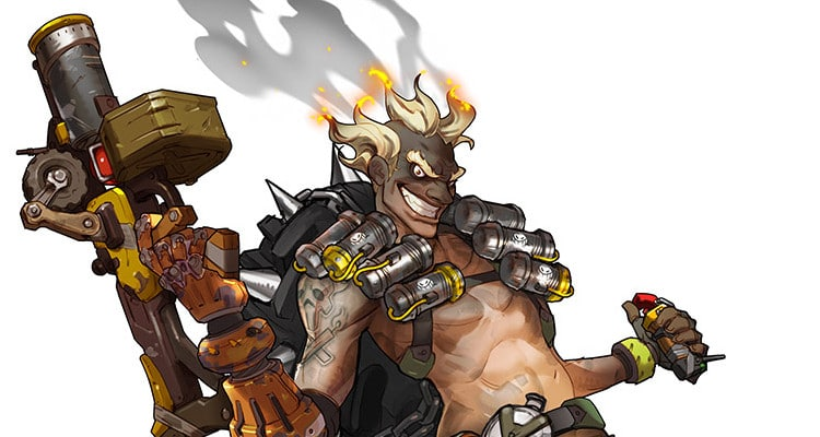 Overwatch 9 Junkrat Artwork