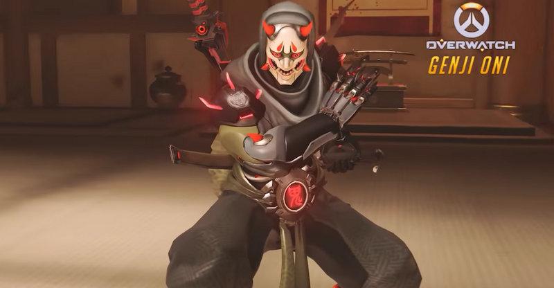 Skin Genji demonio
