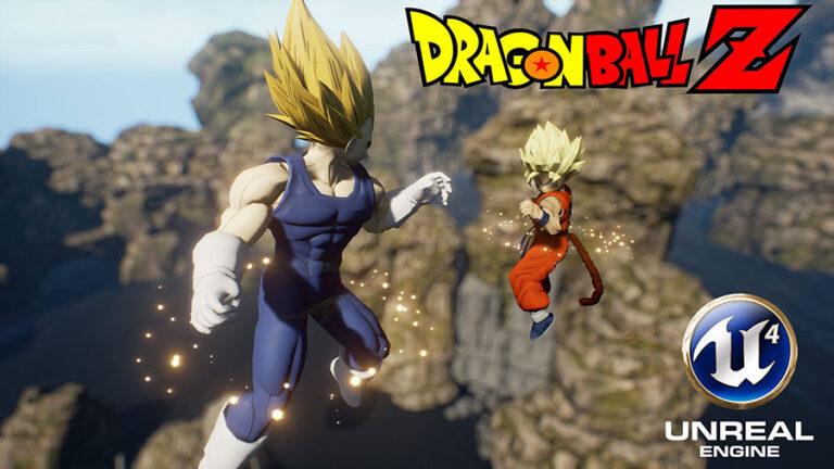 Dragon Ball Unreal actualización