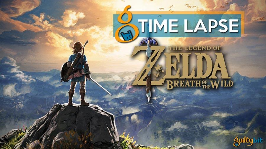 The Legend of Zelda Breath of the Wild y el paso del tiempo en este timelapse