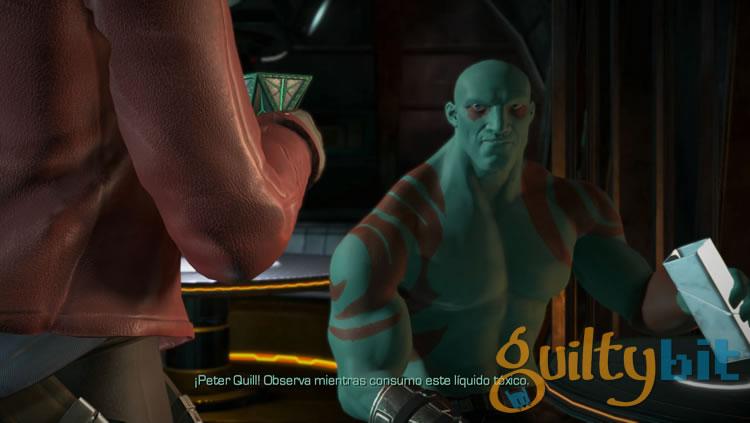 Análisis de Guardianes de la Galaxia The Telltale Series Episodio I drax