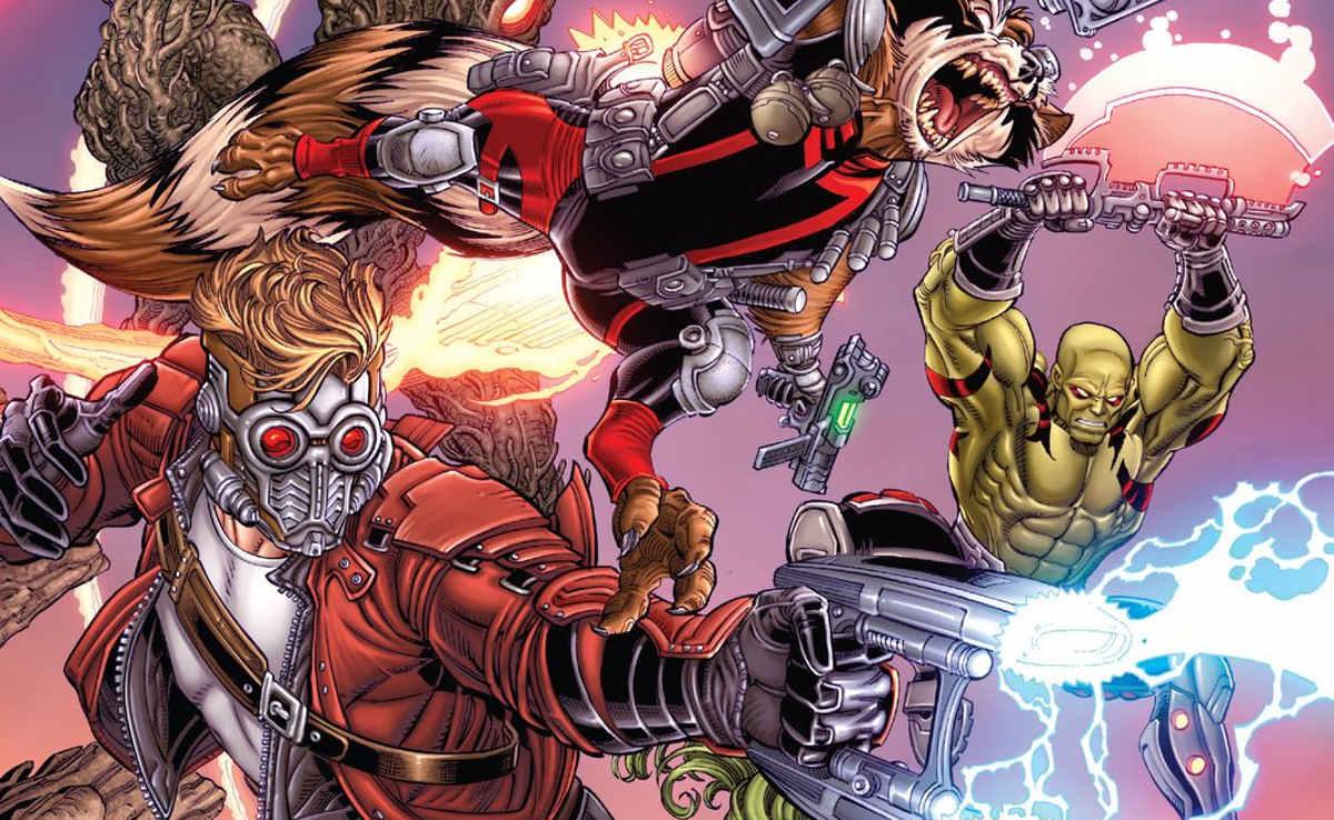 comics de Guardianes de la Galaxia destacada