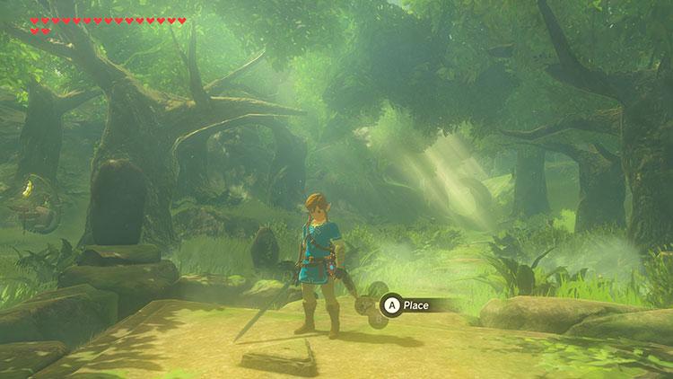 contenido del primer DLC de Zelda: Breath of the Wild