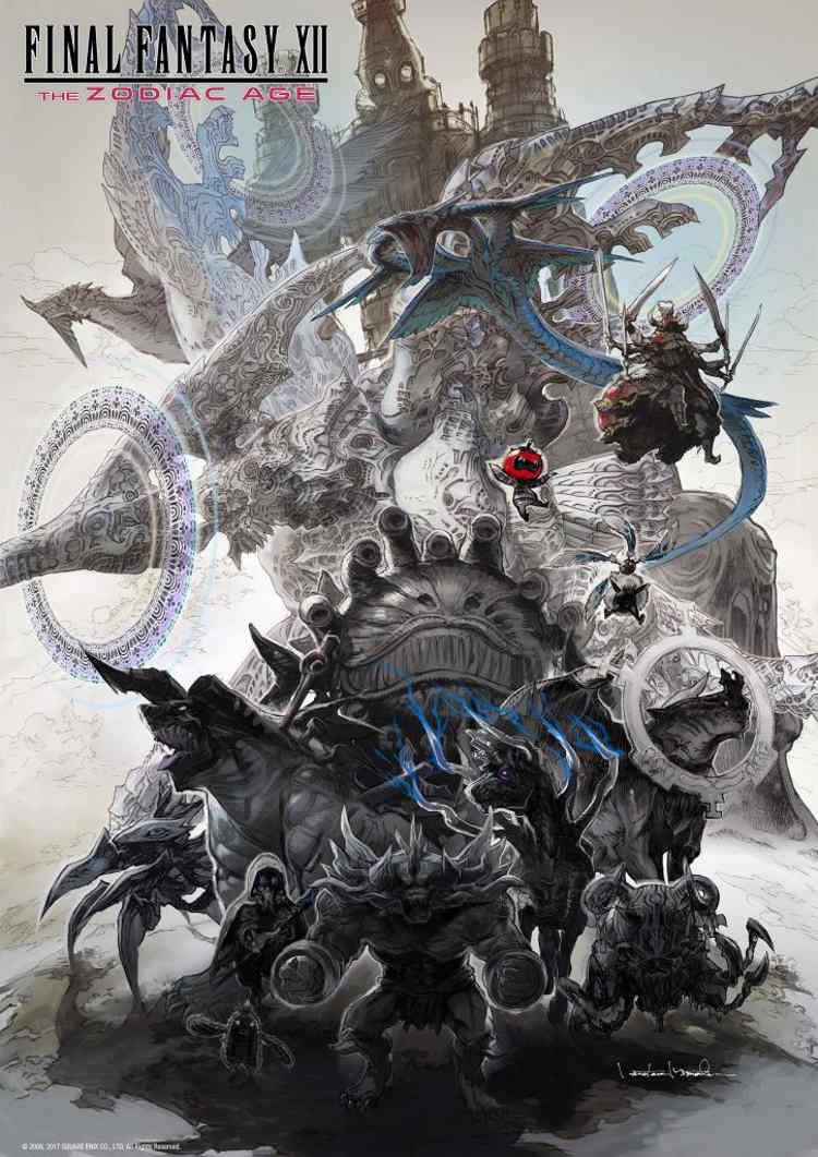 demo del e3 2017 de final fantasy xii the zodiac age imagen ilustracion