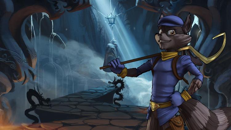 serie de animacion de sly cooper protagonista