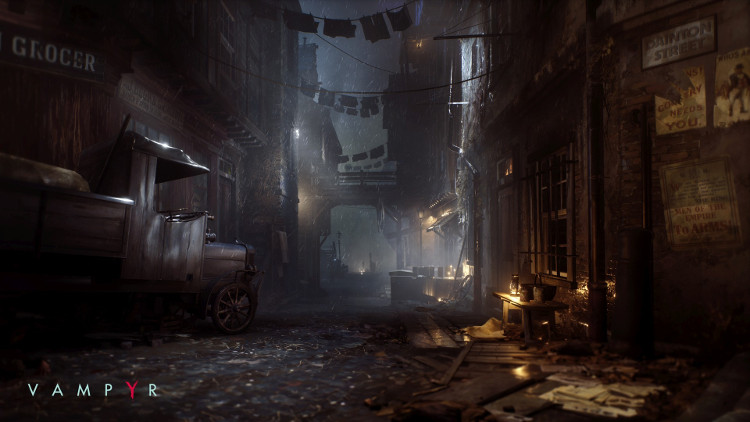 nuevos detalles de vampyr entorno