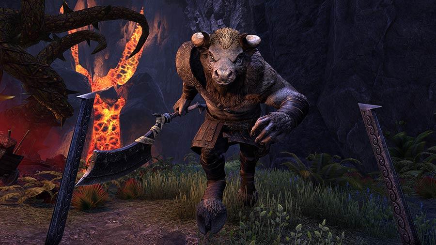 Análisis de The Elder Scrolls Online: Horns of The Reach