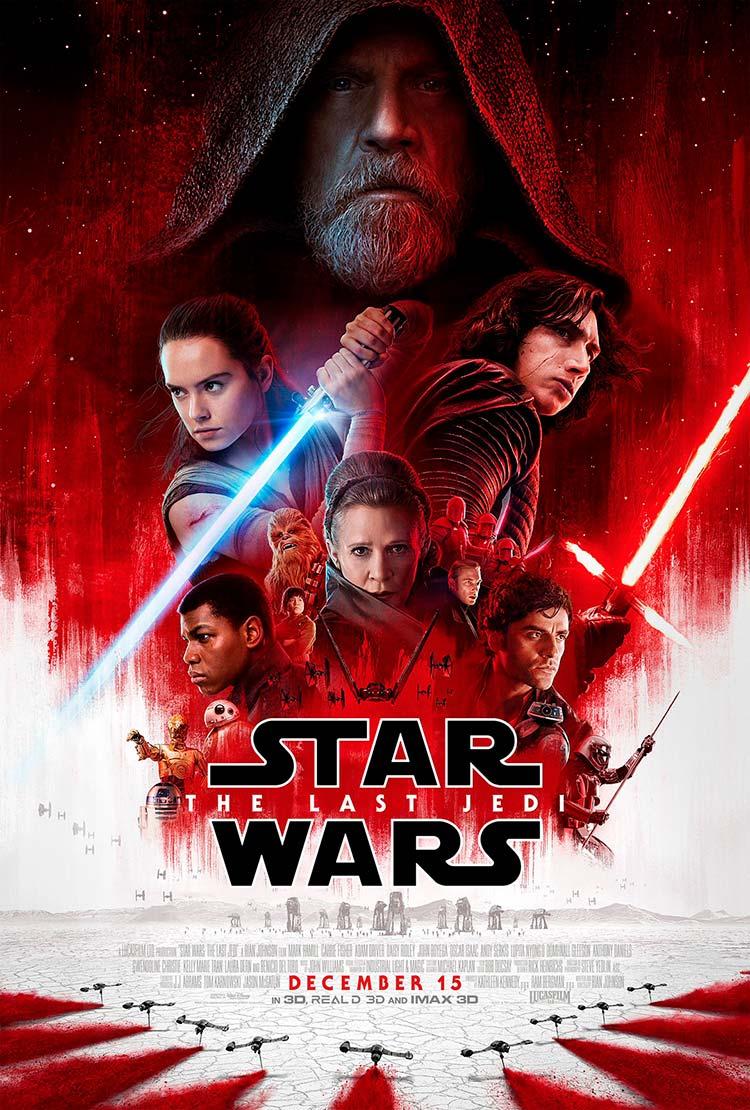 Póster oficial de Star Wars: Los últimos Jedi