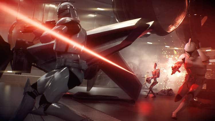 parche de Star Wars Battlefront II