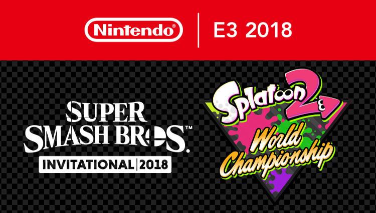 Torneos de Super Smash Bros. y Splatoon 2