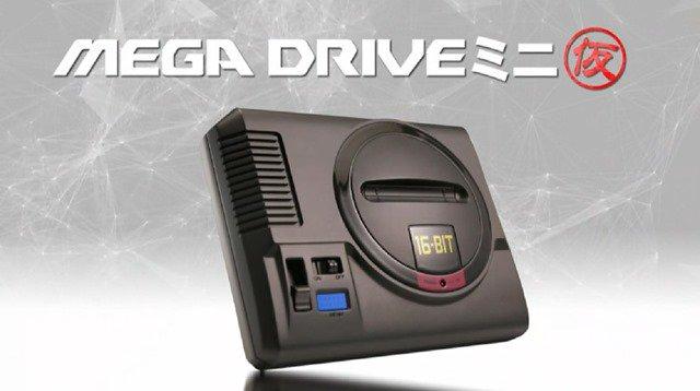 SEGA anuncia Mega Drive mini coincidiendo con el 30 aniversario