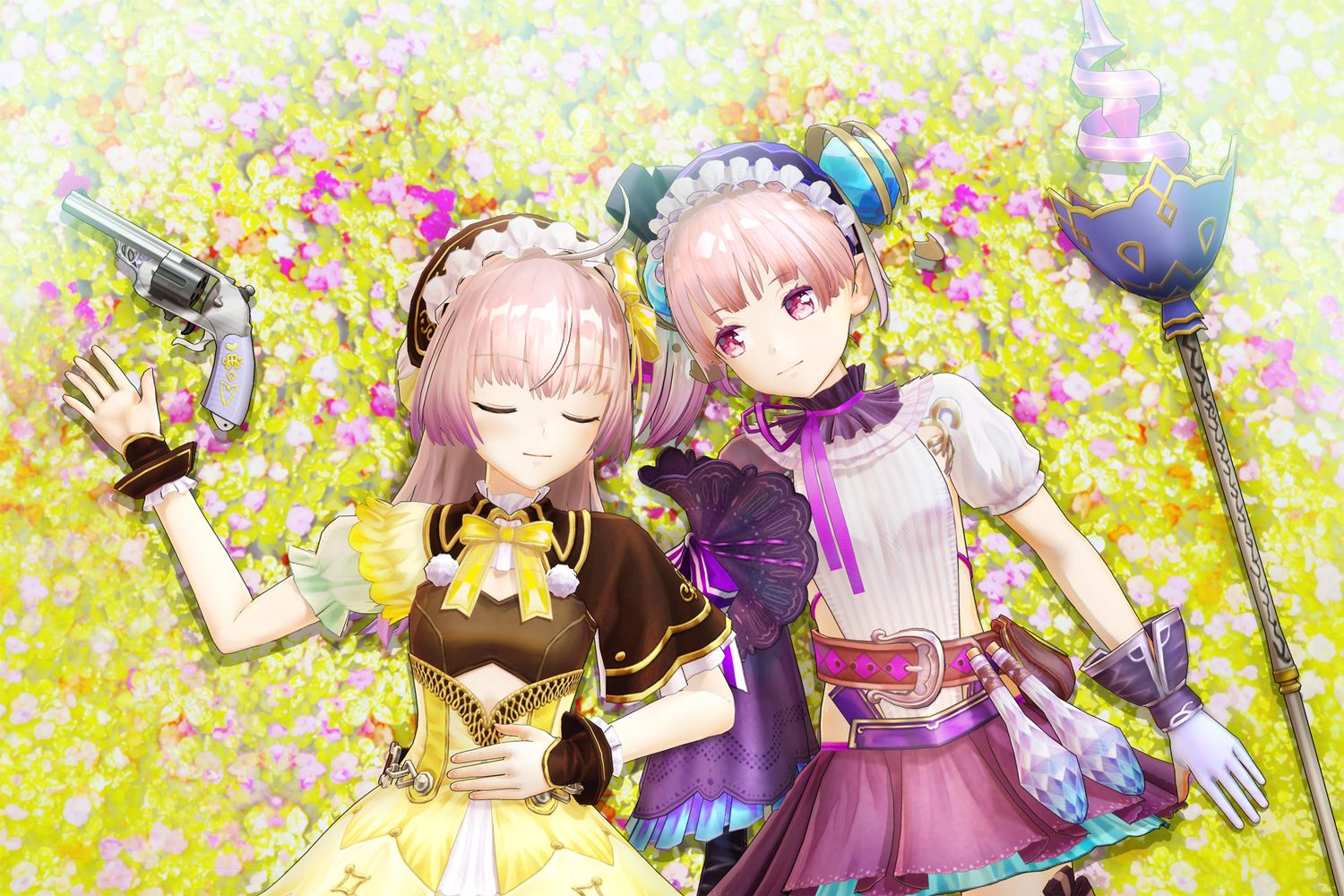 analisis de atelier lydie and suelle the alchemists and the mysterious paintings