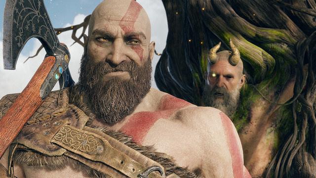 Empiezan los selfie de Kratos con la llegada del modo foto de God of War