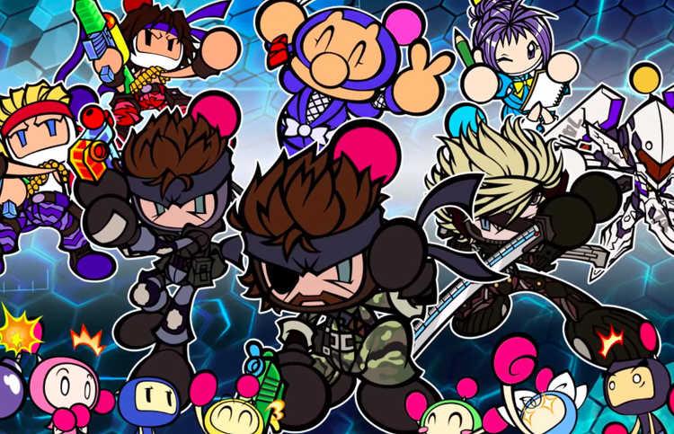 Snake se une a Bomberman R