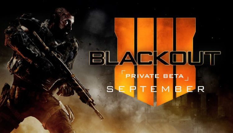 Blackout Call of Duty: Black Ops 4
