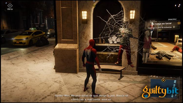 analisis de spider-man para playstation 4 combate