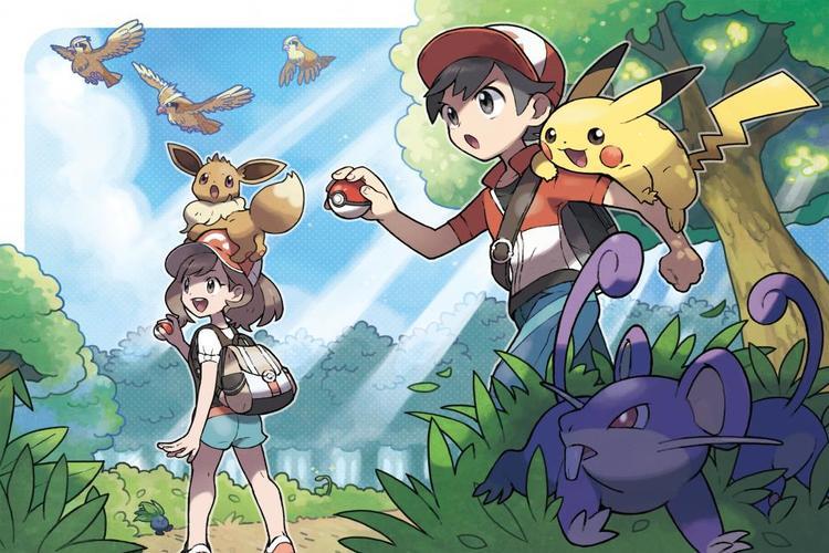 Guía de Pokémon Let's Go