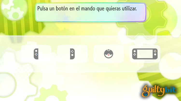 analisis de pokemon let's go controles