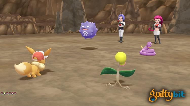analisis de pokemon let's go team rocket