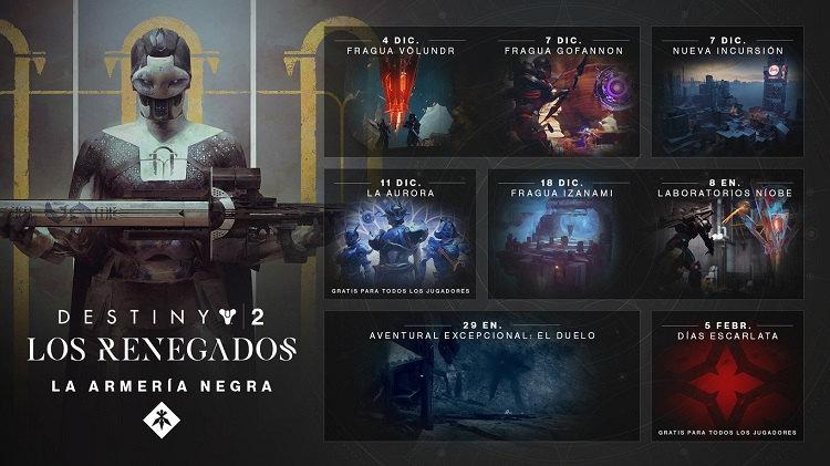 Armeria Negra de Destiny 2