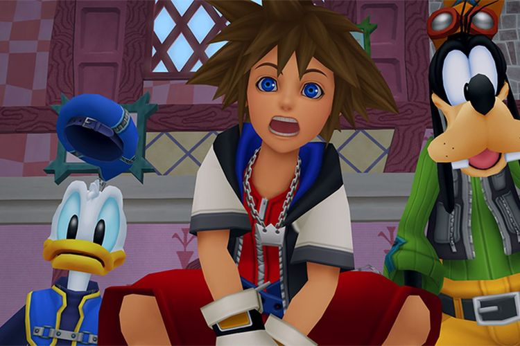 Historia de Kingdom Hearts
