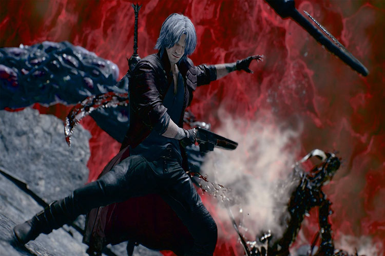 armas sin mostrar de Devil May Cry 5